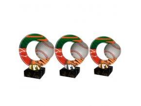 Akrylátová trofej CACL2101M20 Baseball