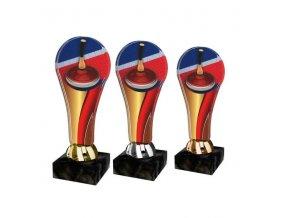 Akrylátová trofej ACL2100M26 Curling