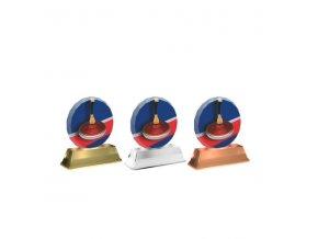 Akrylátová trofej ACE0003M20 Curling