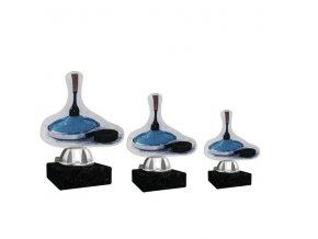 Akrylátová trofej CACT1201M3 curling