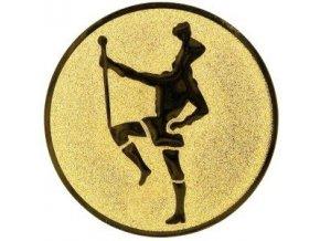 Emblém  CE046  mažoretka