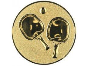 Emblém  CE036  stolní tenis ( ping-pong)