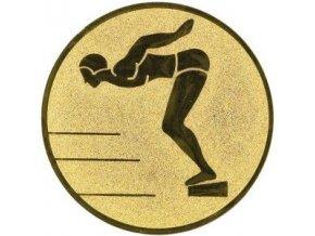 Emblém  CE013  plavání