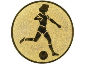Emblém  CE002  fotbalistka