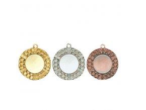 Medaile C9314 zlatá,stříbrná,bronzová