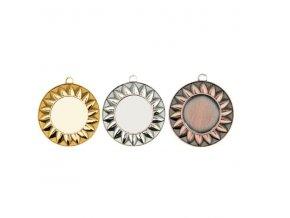 Medaile C9312 zlatá,stříbrná,bronzová