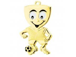 Medaile C9066 fotbal zlatá