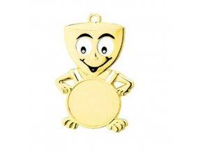 Medaile C9053 zlatá