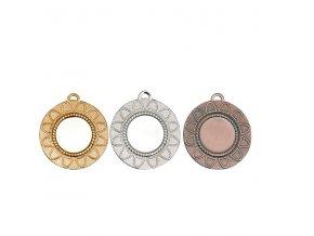 Medaile C9319 zlatá,stříbrná,bronzová