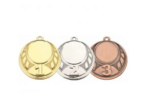 Medaile C9082 zlatá,stříbrná,bronzová 3ks