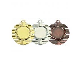 Medaile C9081 zlatá,stříbrná,bronzová