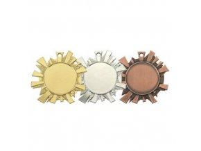 Medaile C9051 zlatá,stříbrná,bronzová