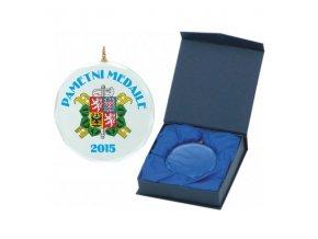 Medaile C9049 Skleněná