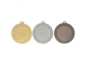 Medaile C9703 zlatá,stříbrná,bronzová