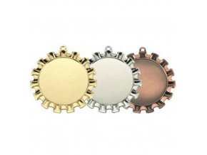Medaile C9050 zlatá,stříbrná,bronzová