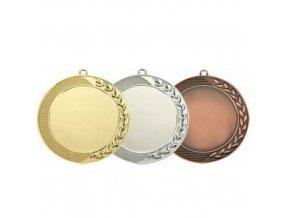 Medaile C9073 zlatá,stříbrná,bronzová