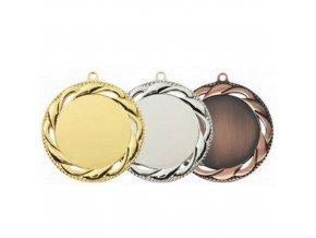 Medaile C9072 zlatá,stříbrná,bronzová