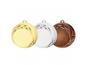 Medaile C9029 zlatá,stříbrná,bronzová