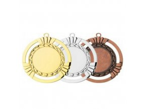 Medaile C9047 zlatá,stříbrná,bronzová