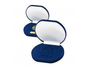 Etue na medaile  C9093 modrá