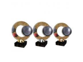 Akrylátová trofej CACL2101M22 Petanque