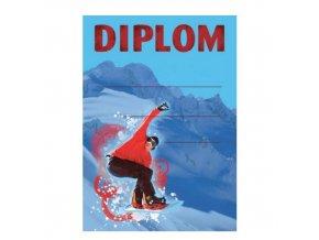 Diplom D28 A4 snowboard