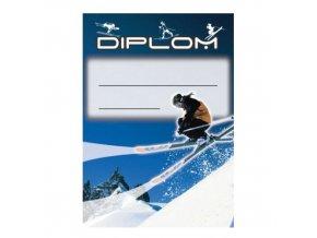 Diplom D38 A4 lyže