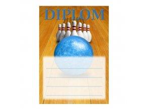Diplom D42 A4 bowling