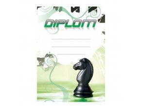 Diplom D41 A4 šachy