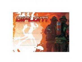Diplom D26 A4 hasiči