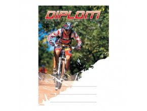 Diplom D07 A4 cyklistika