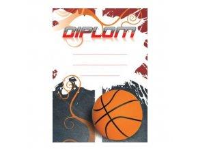 Diplom D16 A4 basketbal