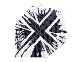 Letky DIMPLEX standard  white/black England flag