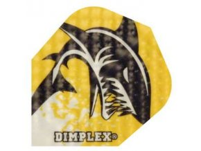 Letky DIMPLEX standard  yellow/black shark