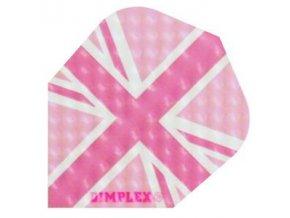 Letky DIMPLEX standard pink vlajka England