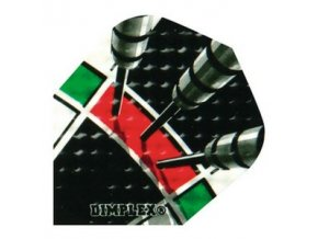 Letky DIMPLEX standard black/red darts