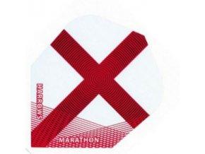 Letky MARATHON  standard white/red England