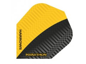 Letky MARATHON  standard black/yellow