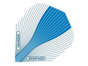 Letky MARATHON  standard white/blue