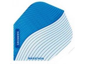 Letky MARATHON  standard blue/white Swirl