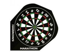 Letky MARATHON  standard black target