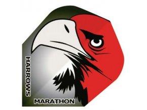 Letky MARATHON  standard black/red eagle