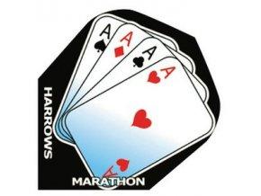 Letky MARATHON  standard black Cards