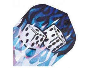 Letky HOLOGRAM standard blue dice