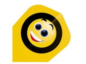 Letky QUADRO standard yellow smile