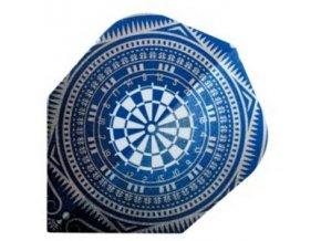 Letky QUADRO standard Blue Dart Board