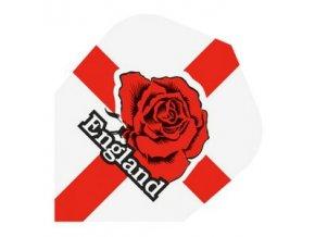 Letky QUADRO standard white/red England