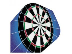 Letky QUADRO standard blue/target