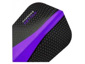 Letky RETINA standard black/purple