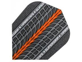 Letky SUPERGRIP standard grey/orange